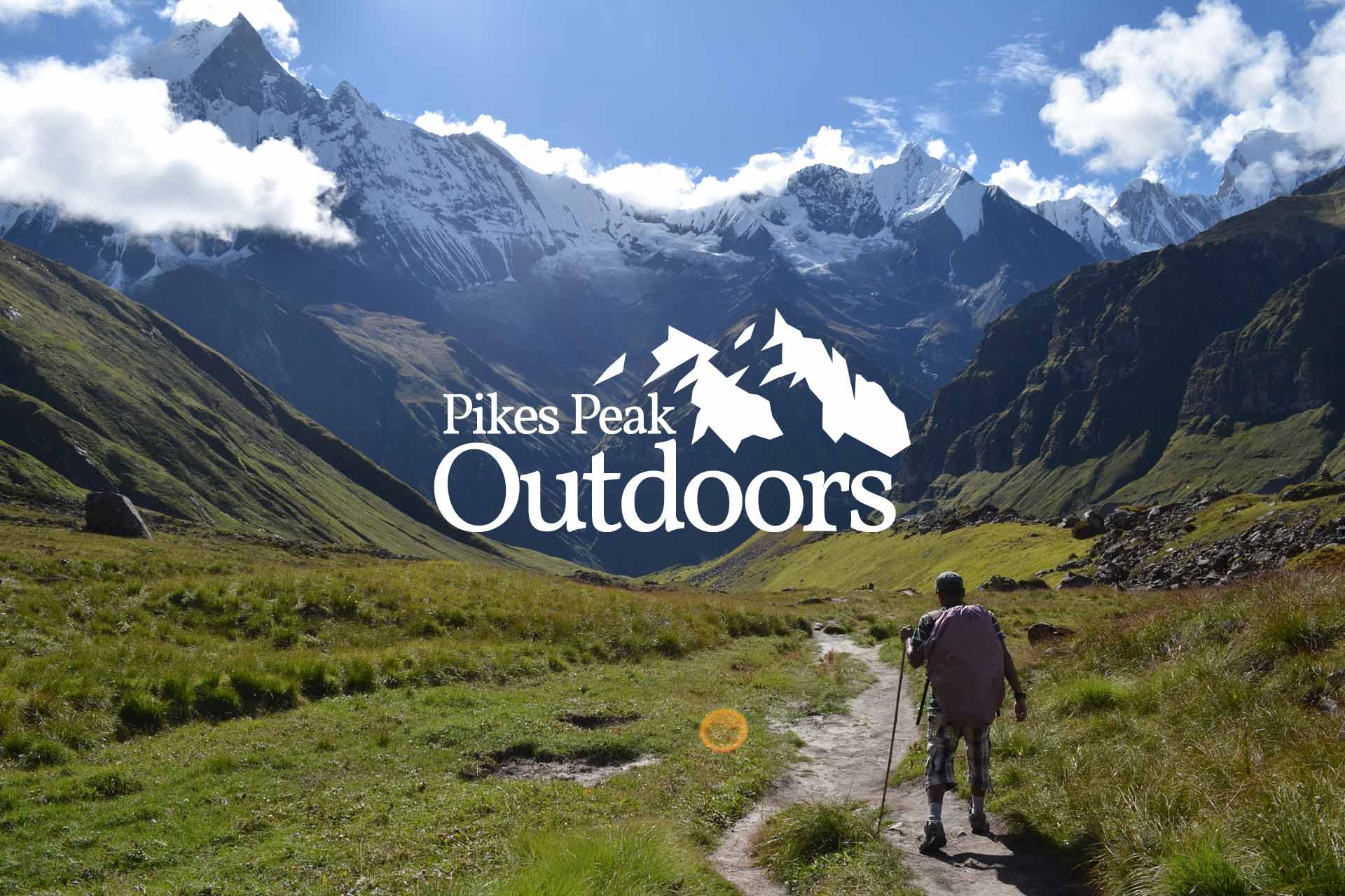 pikes peak outdoors brand identity website blakely