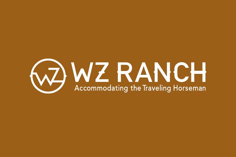 blakely company work wz ranch branding logo horizontal reverse